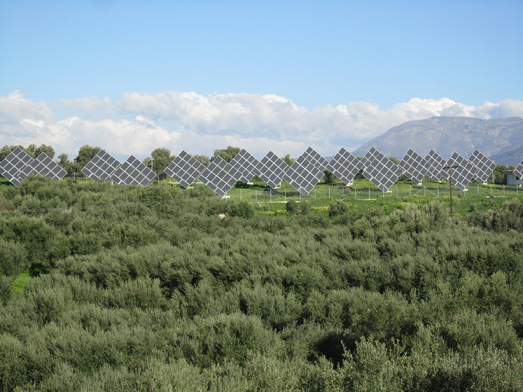 Φωτοβολταϊκό πάρκο νότια του νομού Ηρακλείου